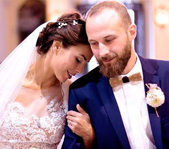 Svatba v kostele inspirace