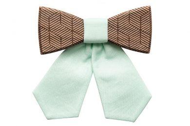 Wooden bow tie Denique