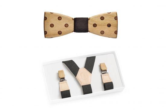 BeWooden - Lux Suspenders & Dolo