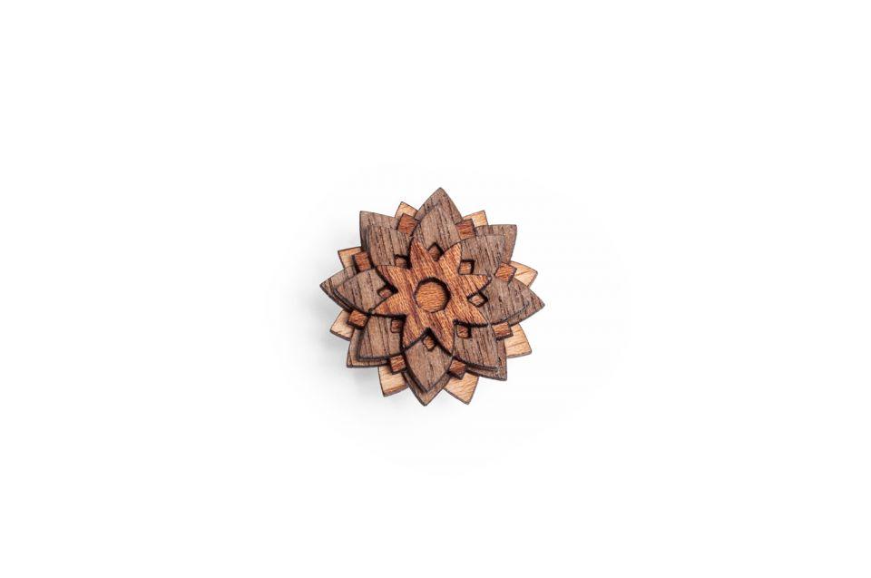 Luxusní dřevěný motýlek Cassio