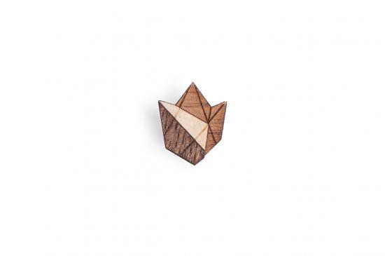 BeWooden - Dřevěná ozdoba do saka Floa Lapel pro muže