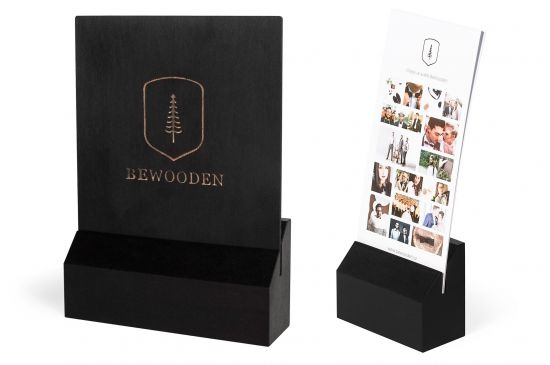 BeWooden - Set - black