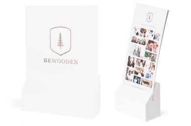 BeWooden - Set - white
