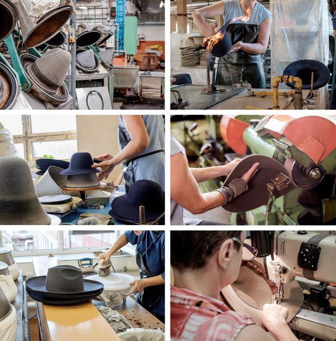 Ruční výroba klobouků Tonak