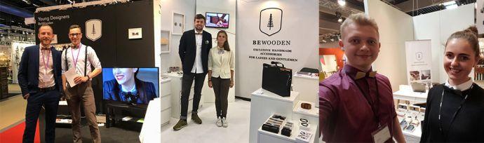 BeWooden stánky s dřevěnými produkty v Berlíně Stockholmu a Paříži