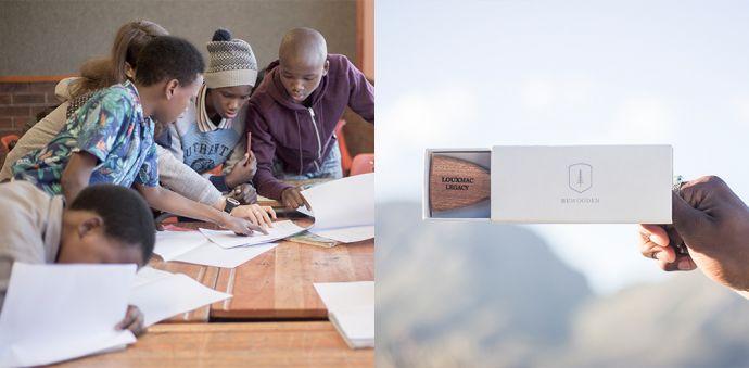 kampaň Made by Africa s dřevěnými doplňky z mahagonového dřeva
