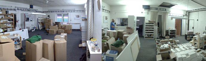 Fotky z rekonstrukce dílny BeWooden v Rychalticích