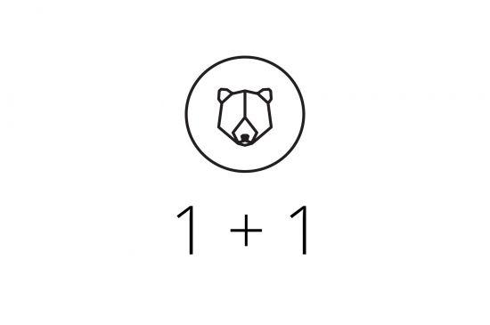BeWooden - 1+1 Brooch