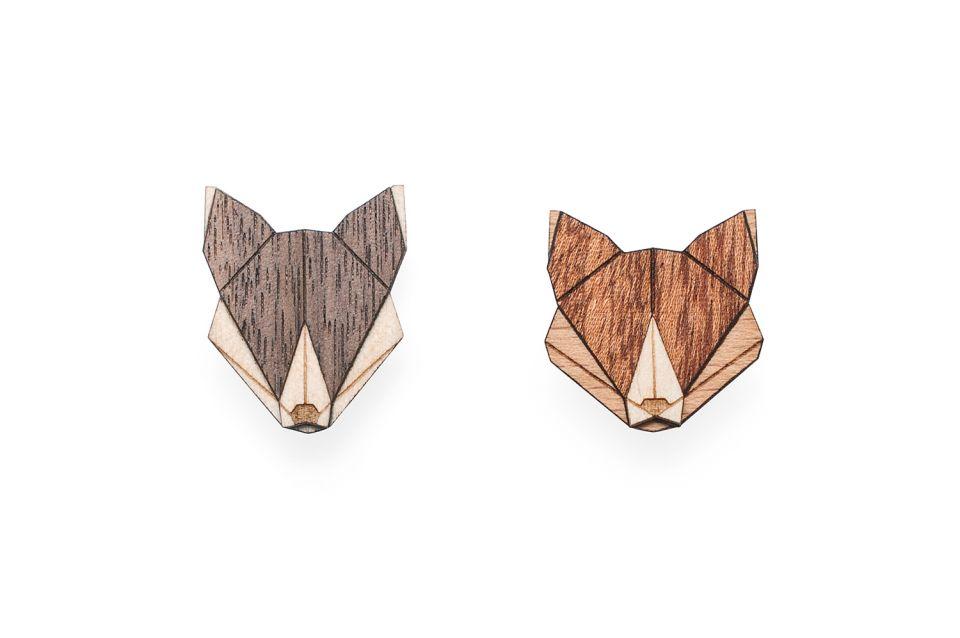 Nápadité dřevěné brože z Beskyd