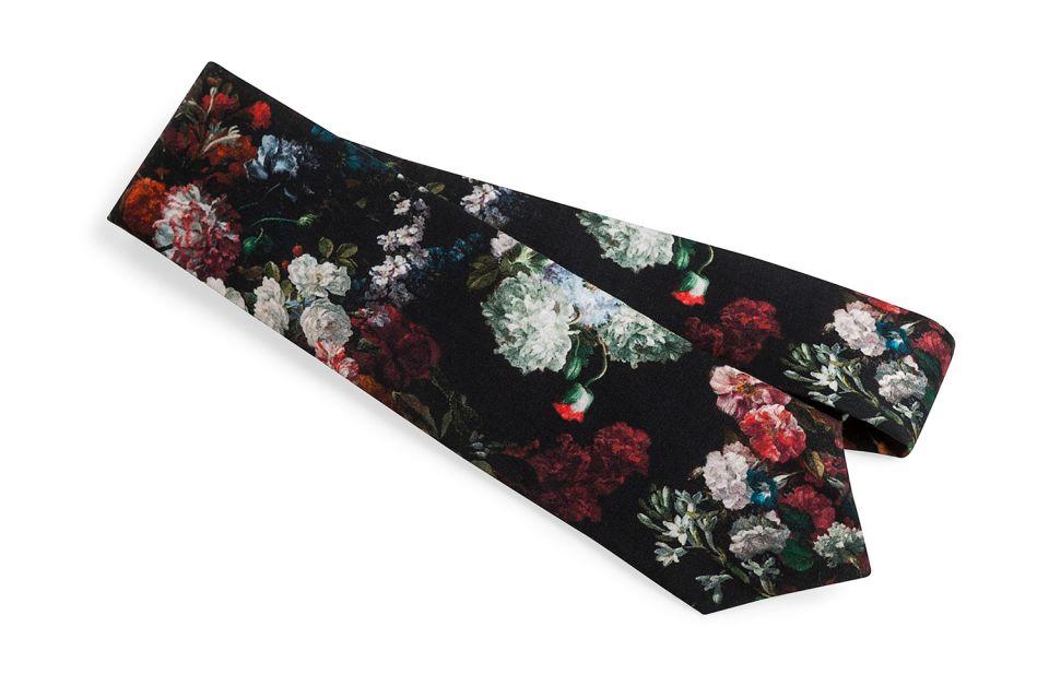 Luxusní květinová kravata BeWooden Roses Tie