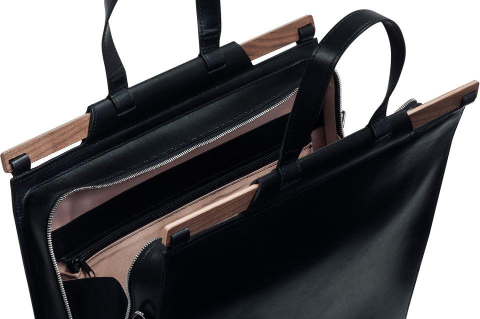 Ručně vyráběná exkluzivní pánská taška z pravé kůže Nox Virilia Handbag