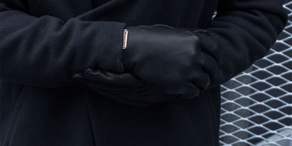 BeWooden - Černé rukavice Apis Gloves