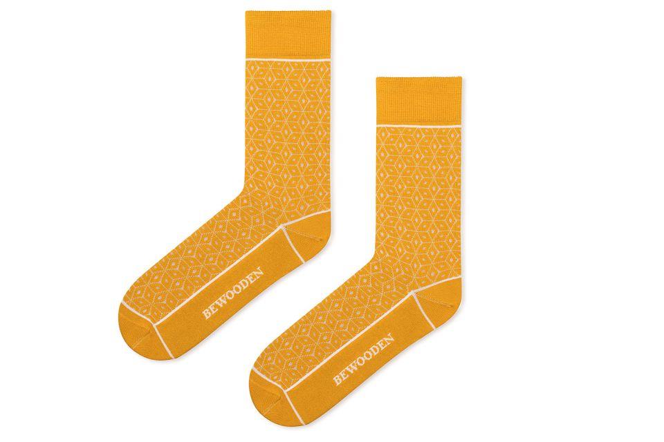 Nápadité bavlněné ponožky BeWooden Sole Socks