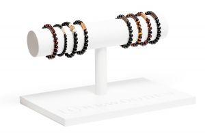 Bracelet Stand Long - white