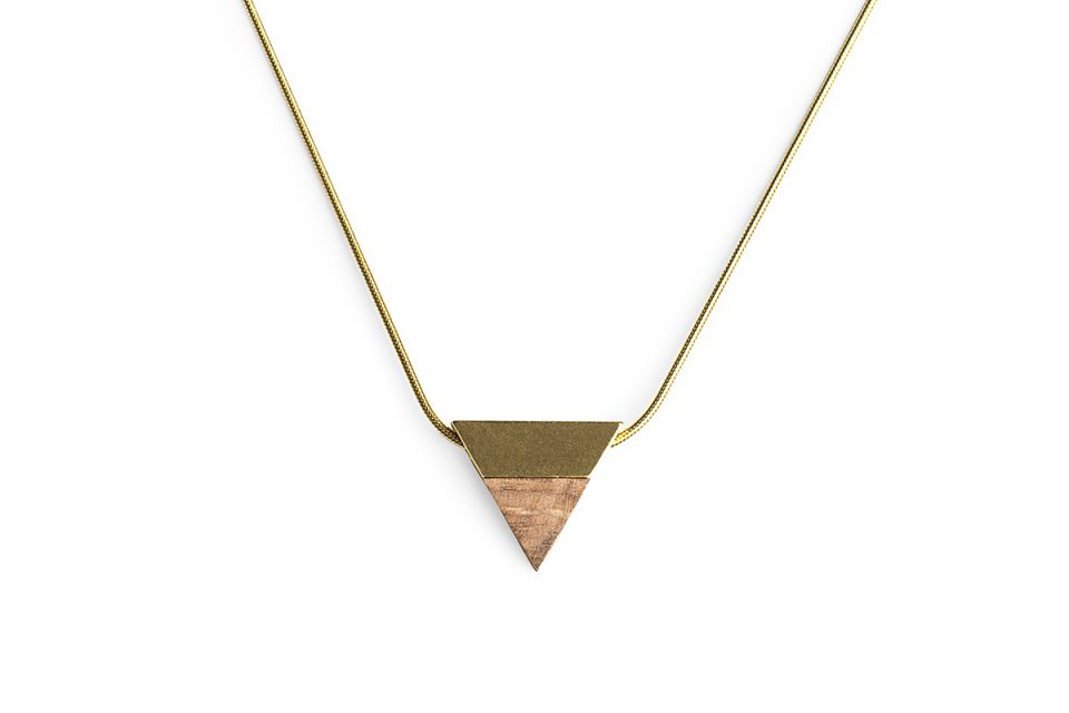 Elegante Halskette Sole Necklace Triangle
