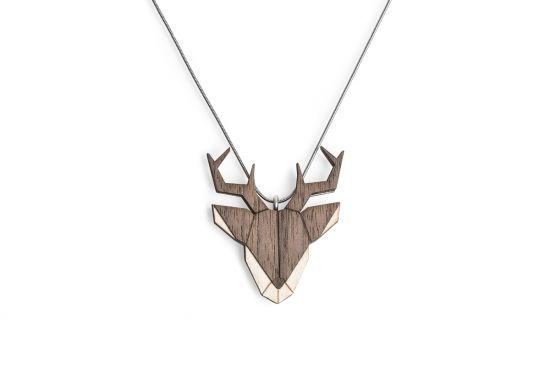 BeWooden - 0 Deer Pendant