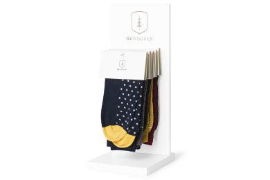 BeWooden - Socks Stand – white 1