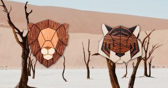 BeWooden - Světová smečka zvířecích broží