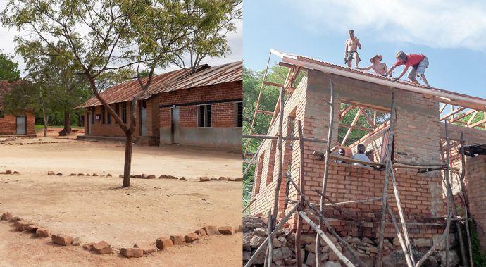 bewooden prispiva na vystavbu skoly v africe