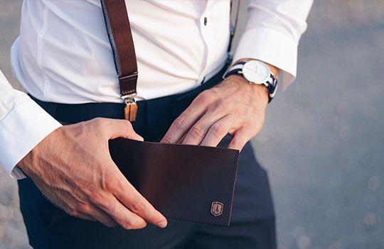 Elegantní a minimalistická peněženka
