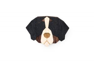 Bernese Mountain Dog Brooch