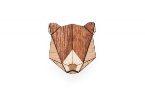 Bear Brooch