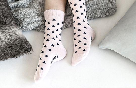 Něžné ponožky