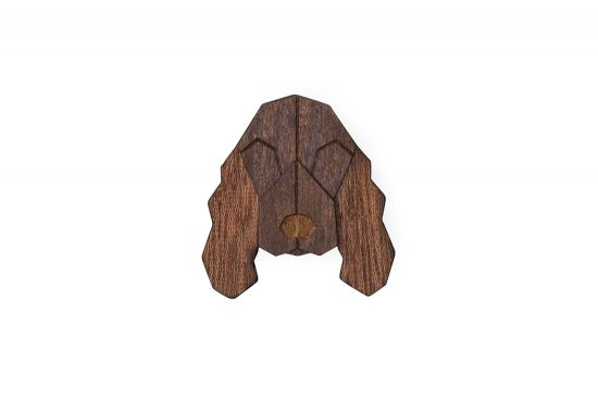BeWooden - 0 Cocker Spaniel brooch