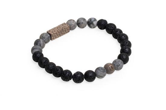 BeWooden - 1 Viame & Lava couple bracelets