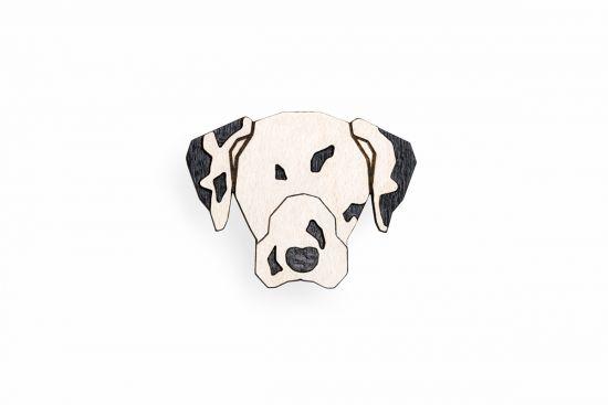 BeWooden - 0 Dalmatian Brooch