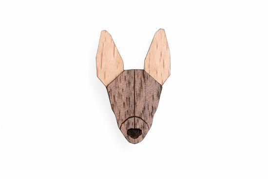 BeWooden - 0 Peruvian Hairless Dog Brooch