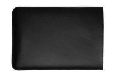 """Černý obal na MacBook z pravé kůže Sleeve MacBook Air 13"""" s možností výměny či vrácení do 30 dnů zda"""