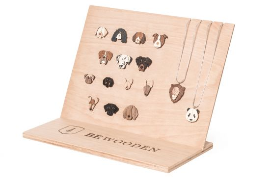 BeWooden - Pendant set natural