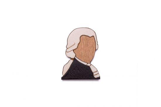 BeWooden - Amadeus brooch
