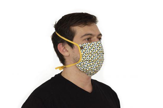 Bavlněná stylová rouška Meri Mask - BeWooden