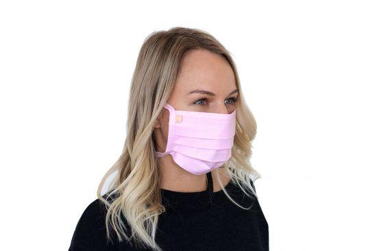 Bavlněná stylová rouška Rea mask - BeWooden