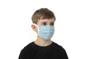 Turquoise Kids Mask