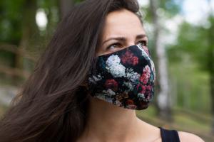 Rubber Rose Mask