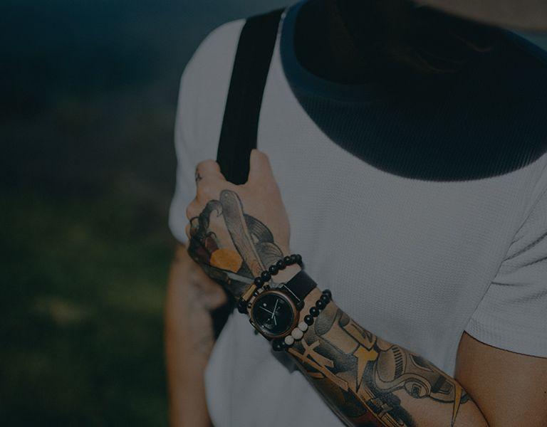 Dřevěné hodinky TAS