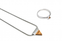Triangle Necklace & Ring
