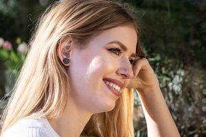 African Flower Earrings