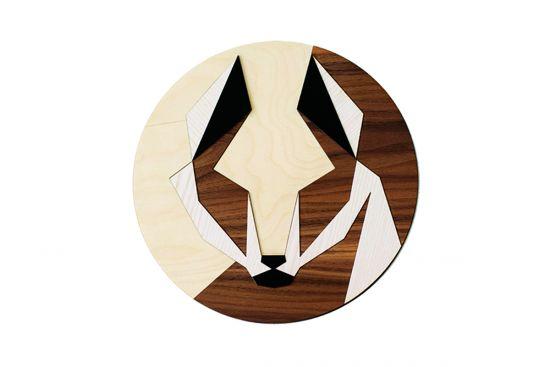 Malefox Wooden Image
