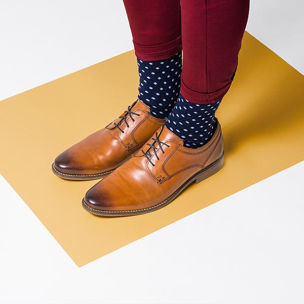 Elegantní pánské ponožky BeWooden Coloo Socks
